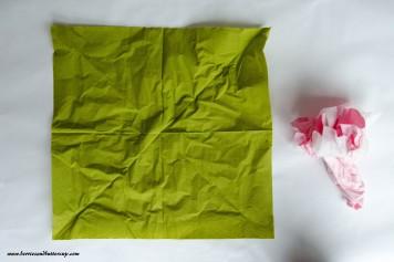 Servietten falten Kirschblüte DIY Anleitung Tischdeko (6)