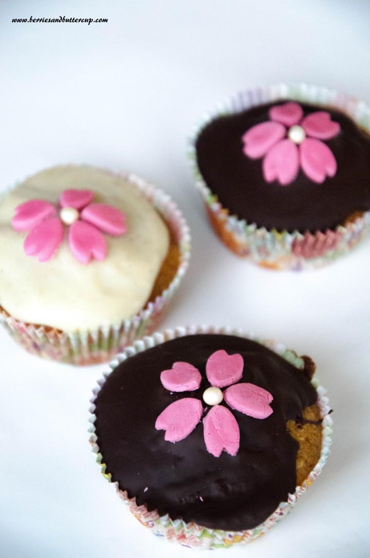 Cupcake Kirschblüten (33)