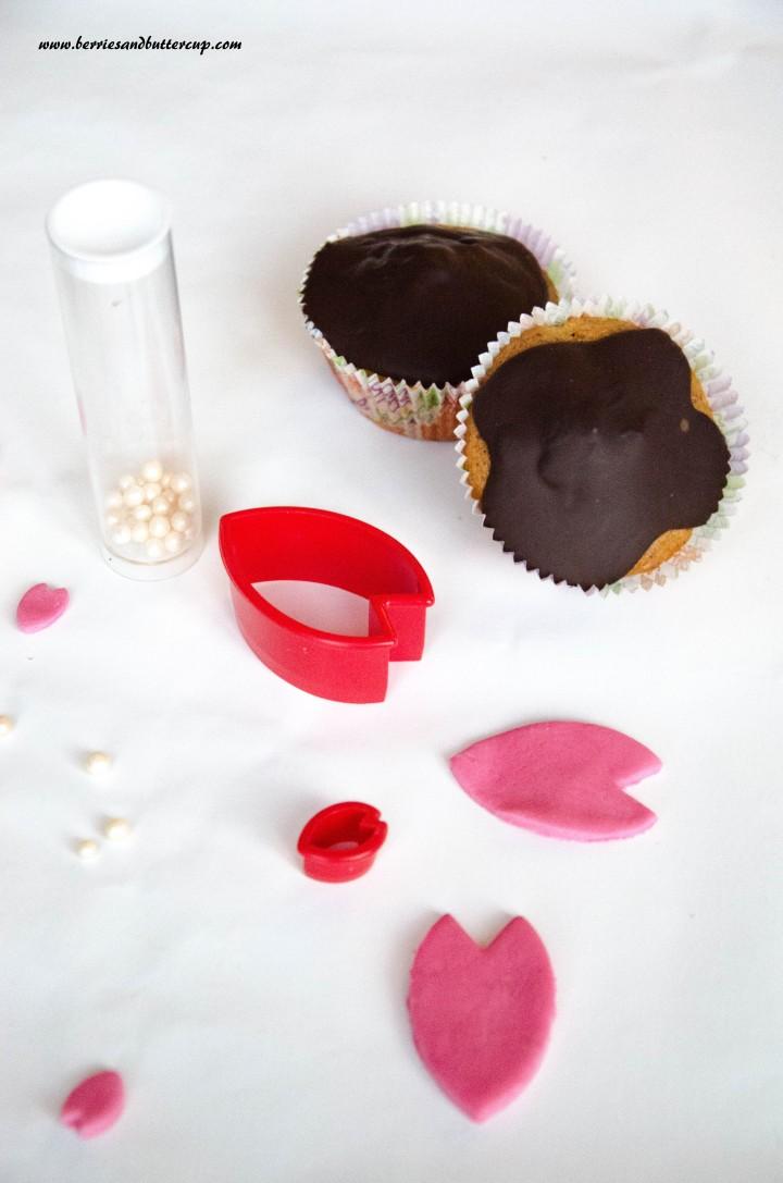 Cupcake Kirschblüten (46)