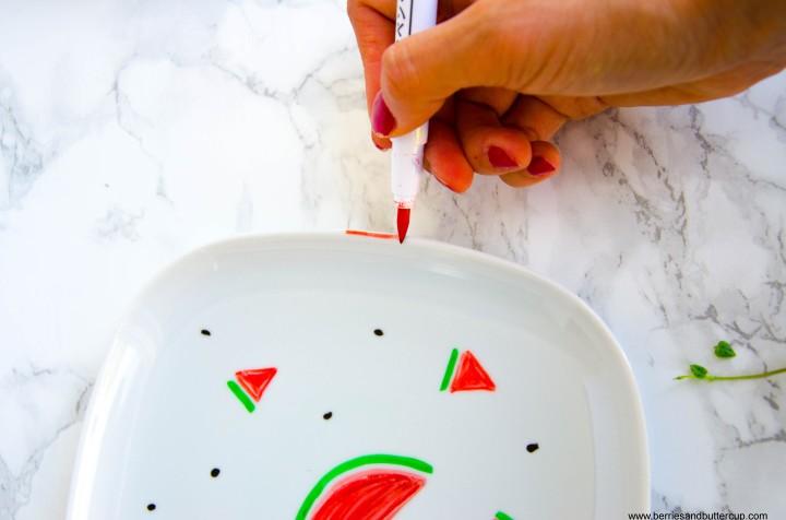 2017 06 21_Porzellan mit Wassermelone bemalen-10