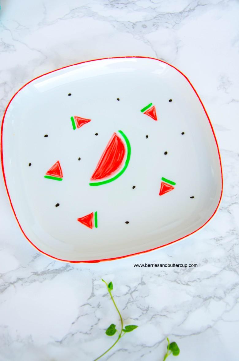 2017 06 21_Porzellan mit Wassermelone bemalen-11