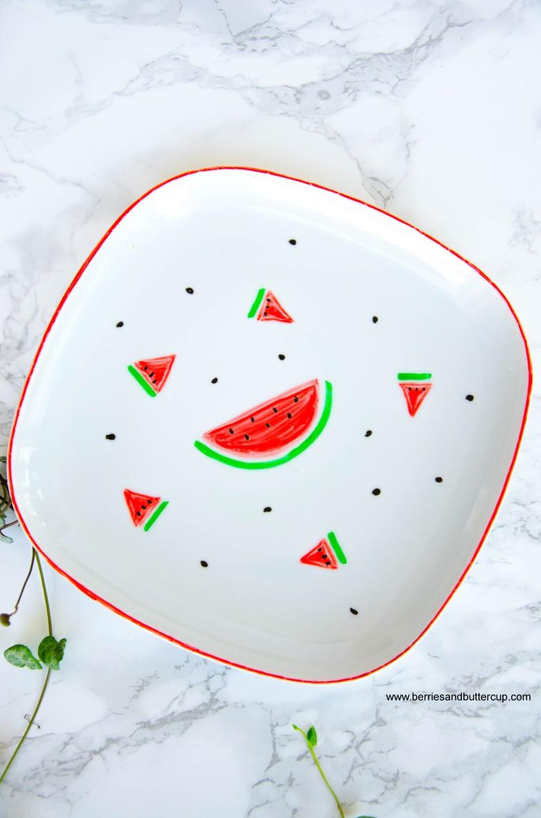 2017 06 21_Porzellan mit Wassermelone bemalen-14