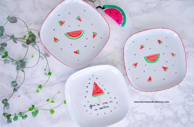 2017 06 21_Porzellan mit Wassermelone bemalen-17