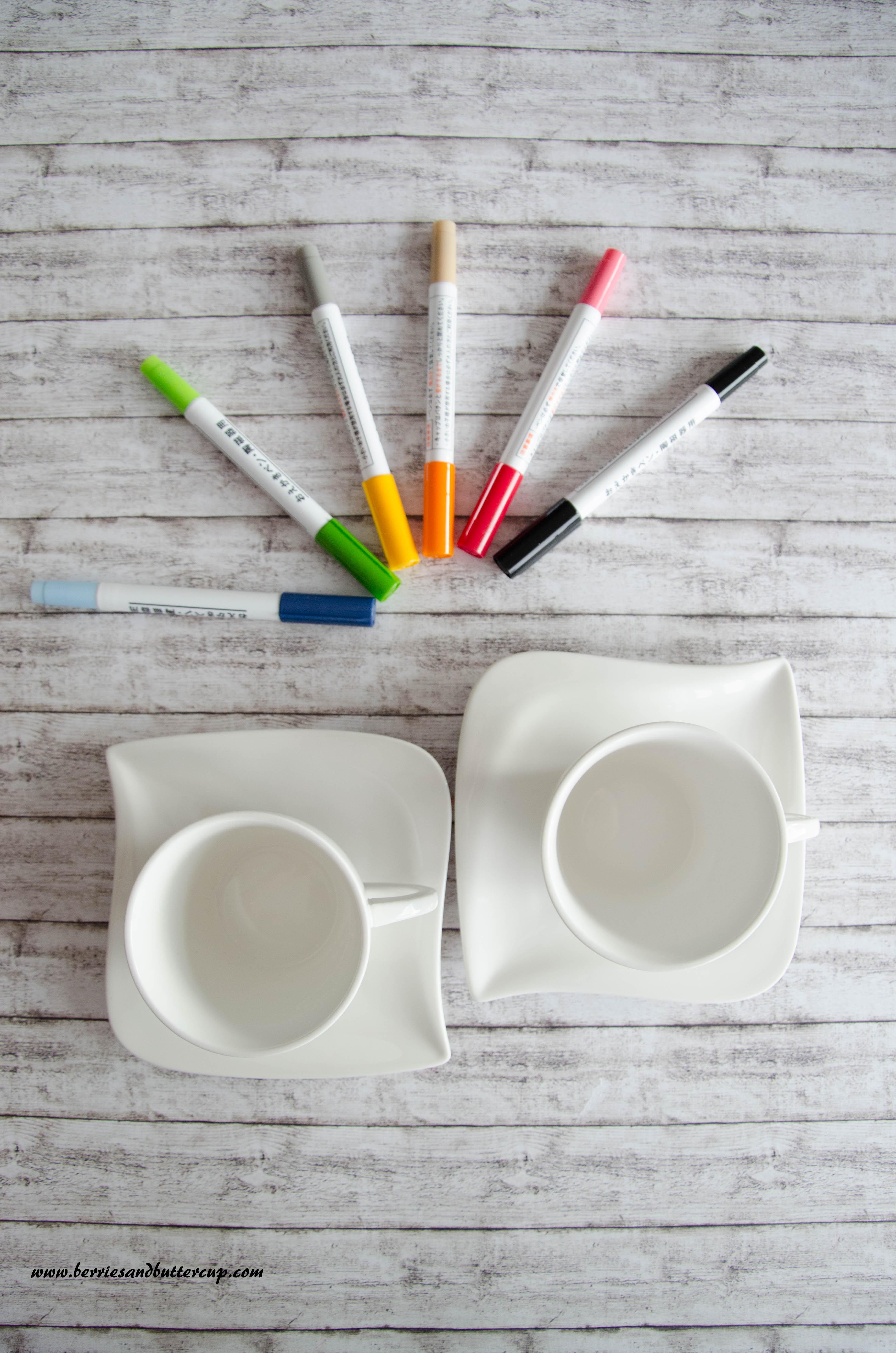 DIY Geschenkidee- Tasse bemalen Du wirst Oma Du wirst Opa Willst du mich heiraten