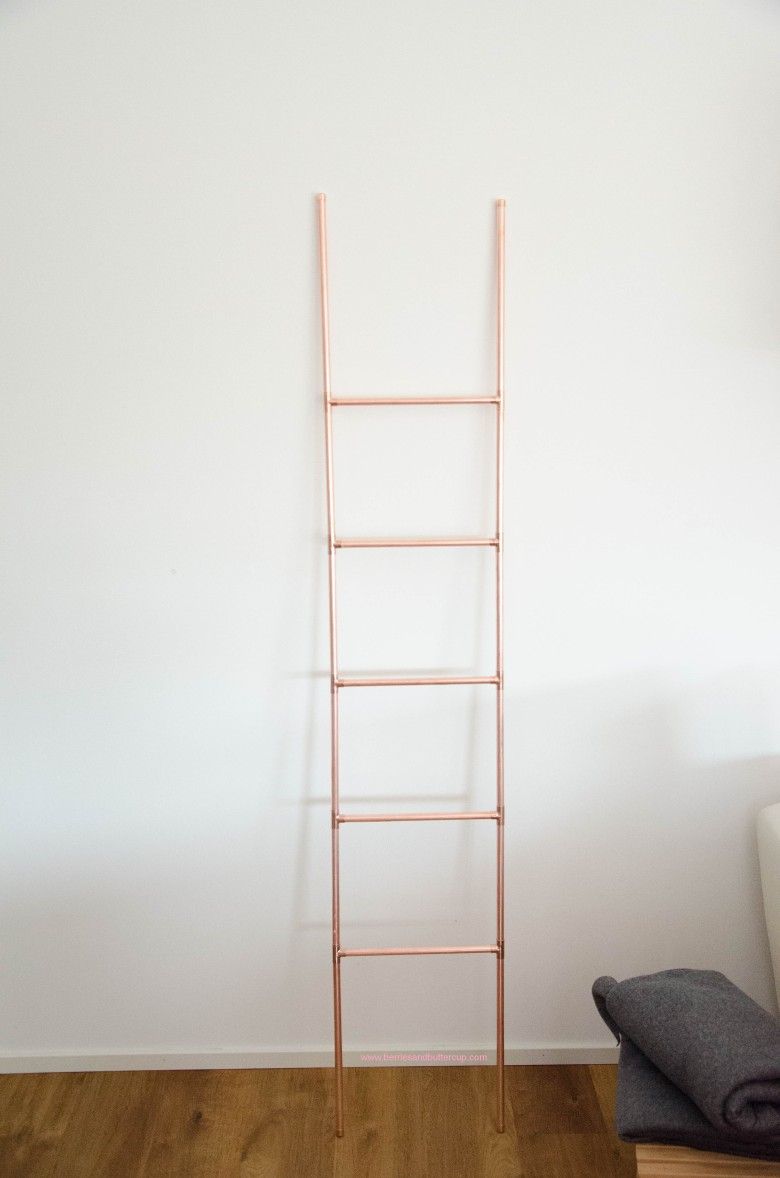 DIY Kupferrohr Leiter Anleitung Copper ladder Do it yourself (19)