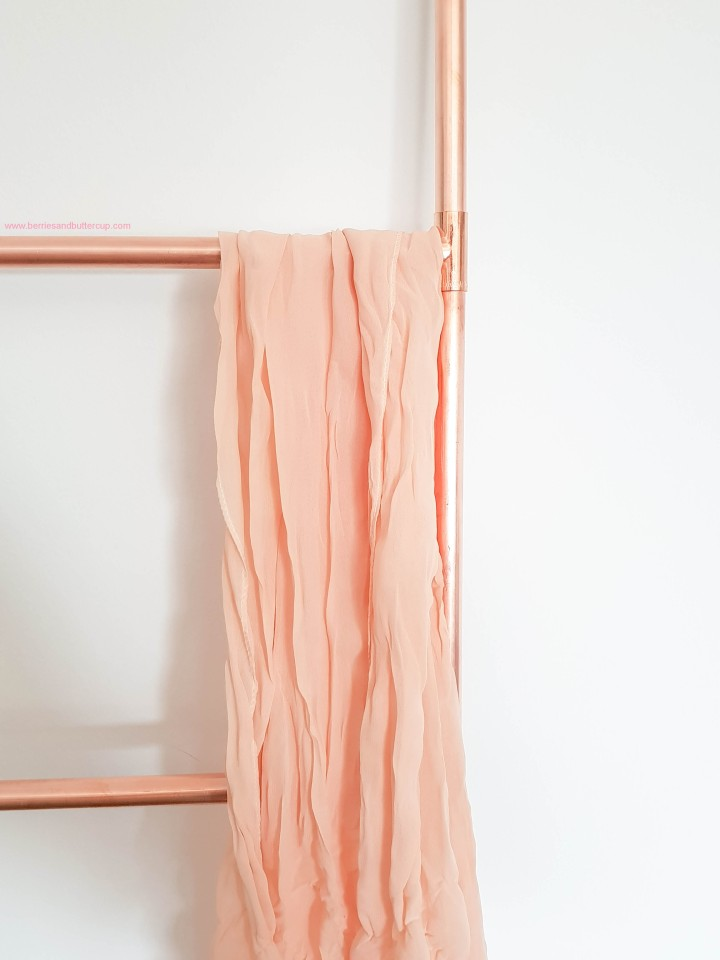 DIY Kupferrohr Leiter Anleitung Copper ladder Do it yourself (21)