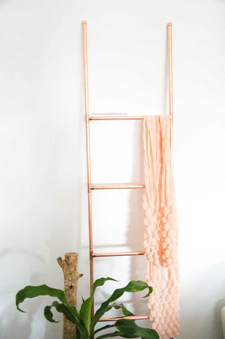 DIY Kupferrohr Leiter Anleitung Copper ladder Do it yourself (22)