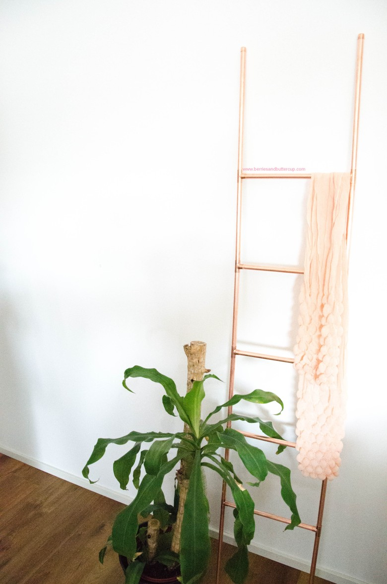 DIY Kupferrohr Leiter Anleitung Copper ladder Do it yourself (23)
