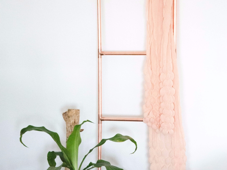 DIY Kupferrohr Leiter Anleitung Copper ladder Do it yourself (25)